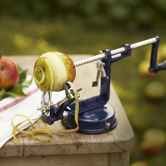 Apple Master: apple peeler, corer and slicer