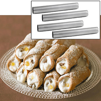 Cannoli Moulds - Lakeland, the home of creative kitchenware